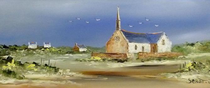 Chapelle de Portivy Réf 0017 Bois 50 x 22 Instinctif