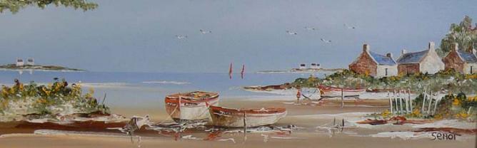 Golfe du Morbihan Réf 0091 20 x 60