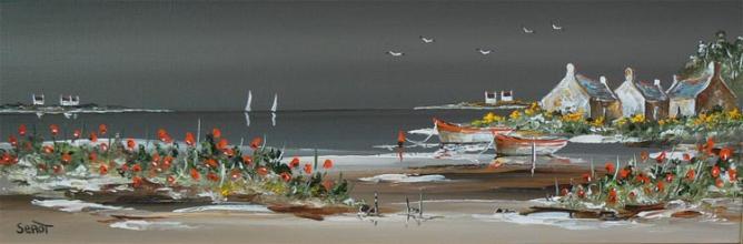 Le Golfe du Morbihan Réf 0094 20 x 60