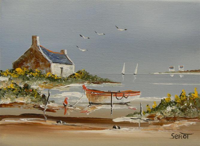 Le golfe du Morbihan Réf 0078 22 x 16