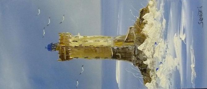 Phare de la Vieille Réf 0027 Bois 50 x 22 Instinctif