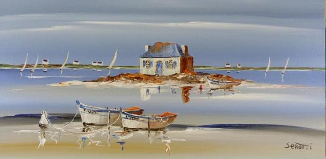 Saint-cado dans le Morbihan Réf 0063 40 x 80 Instinctif