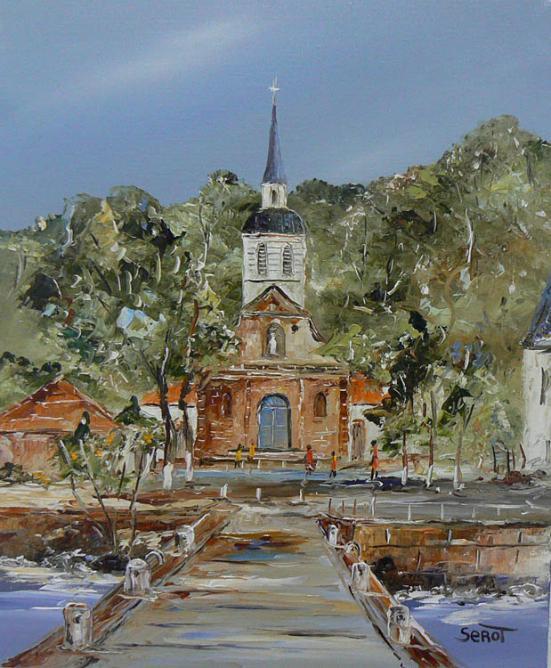 Ste Anne en Martinique Réf 0113 46 x 38