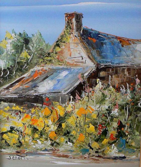 Vieille maison Réf 0065 65 x 54 Instinctif